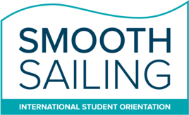 Smooth sailing VIU orientation logo