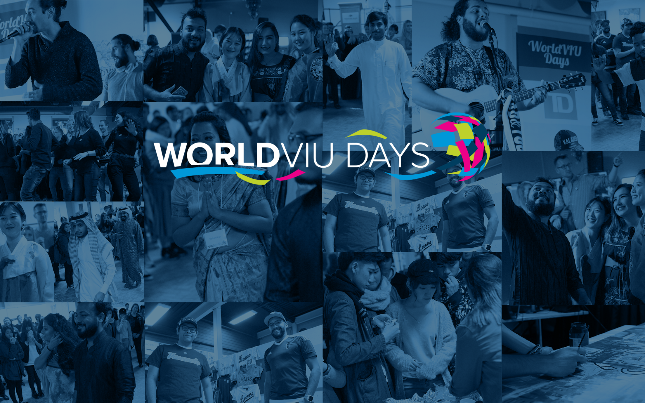 WorldVIU Days Background
