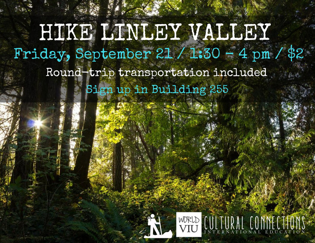 VIU Top Hikes Linley Valley September 21 2018