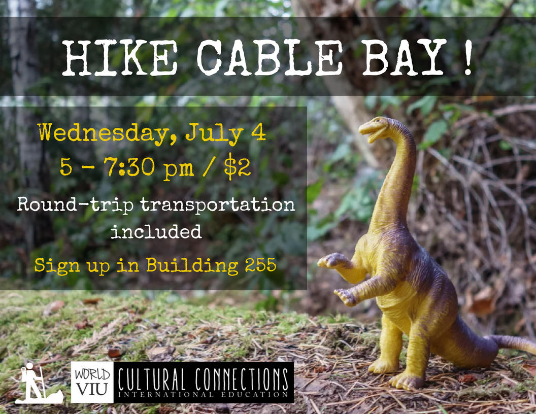 VIU Cultural Connections - Nanaimo's Top Local Hikes - Cable Bay Trail - July 4, 2018