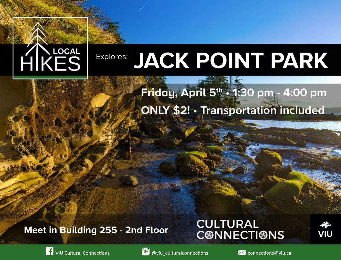 VIU Cultural Connections - Local Hikes - Jack Point Park