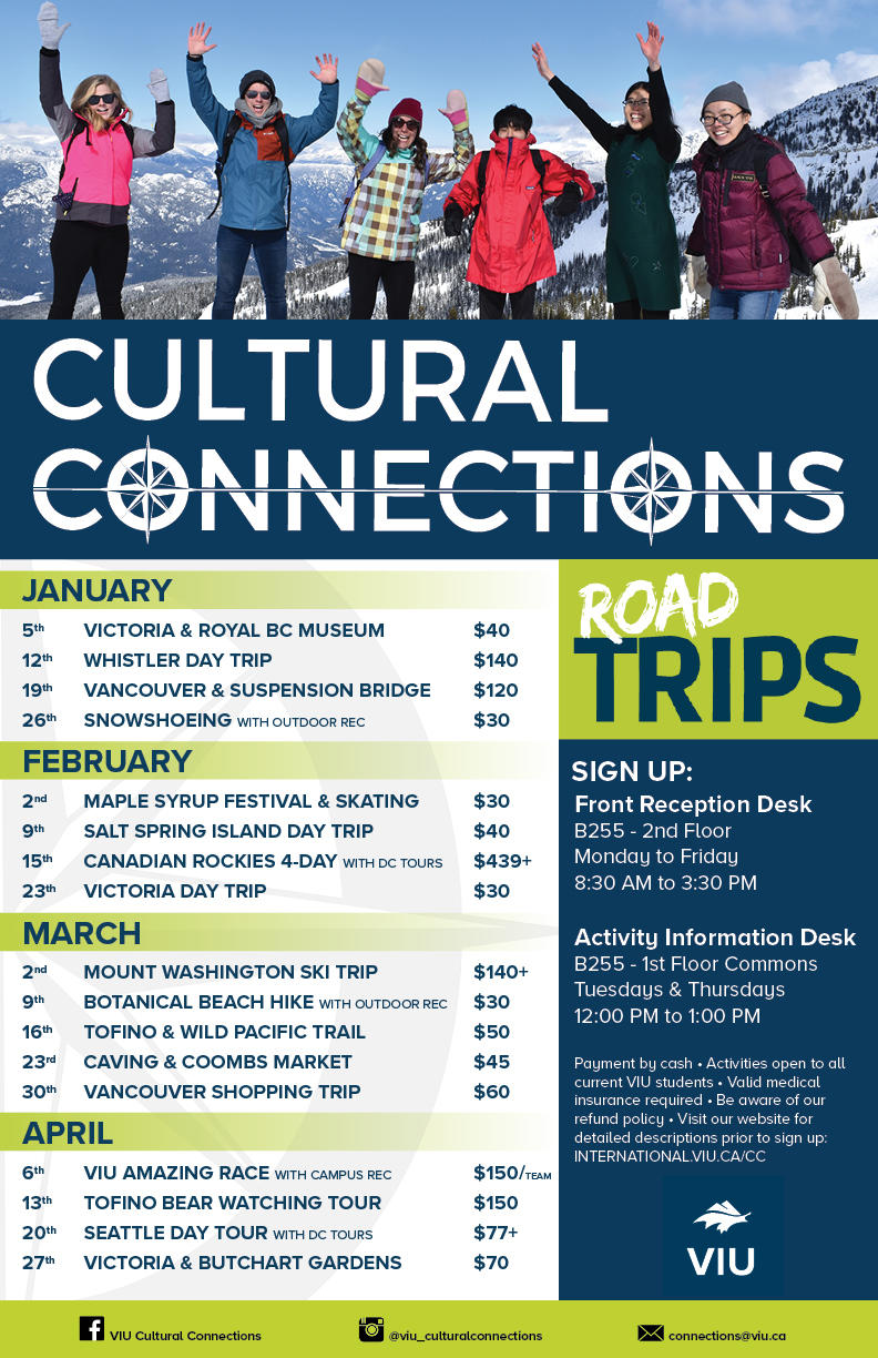 Cultural Connections - Fall 2018