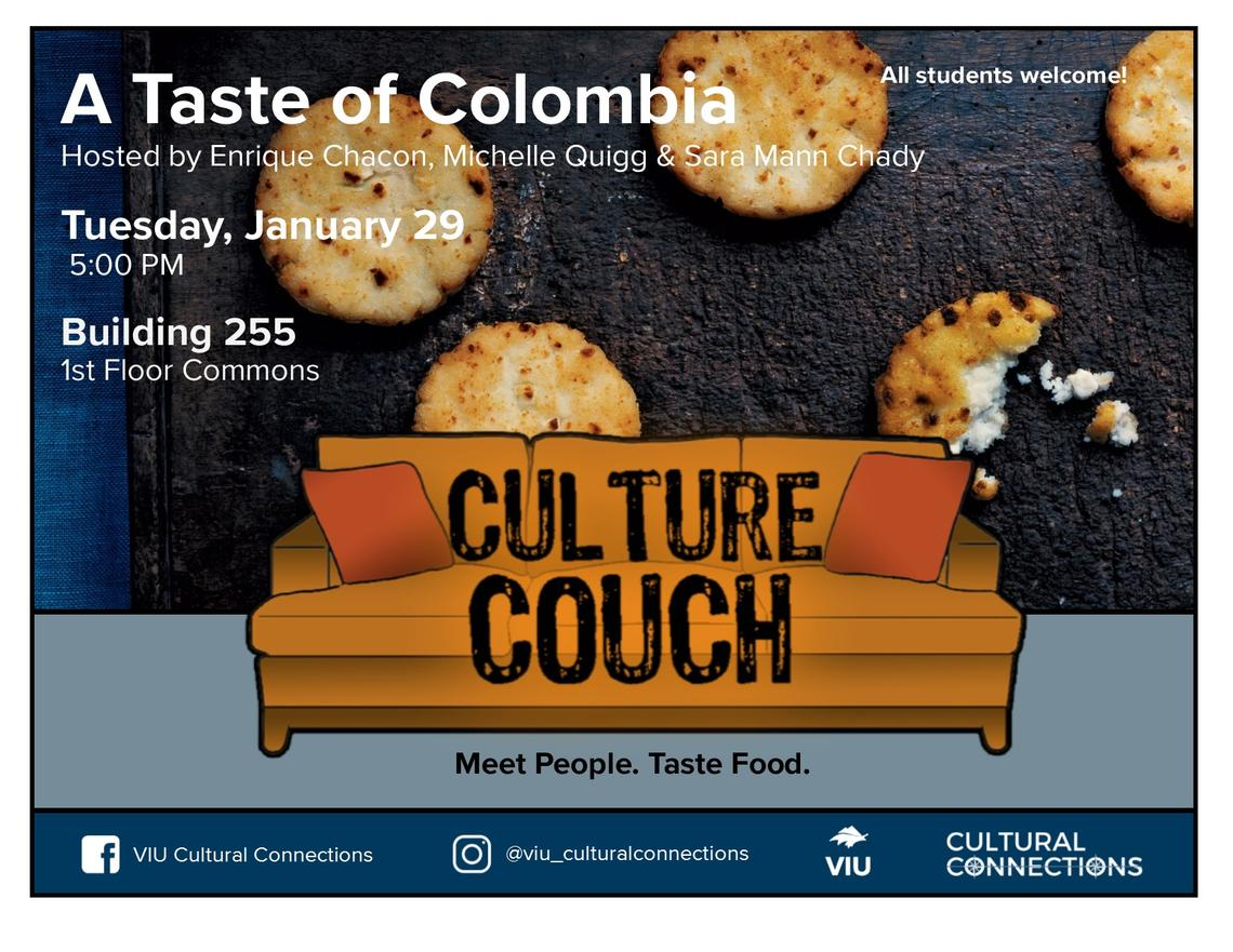 VIU Culture Couch Colombia January 29 2019