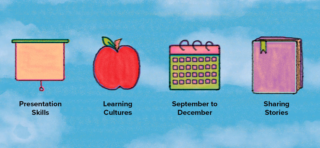 Presentation Skills, Learning Cultures, September to December, Sharing Stories