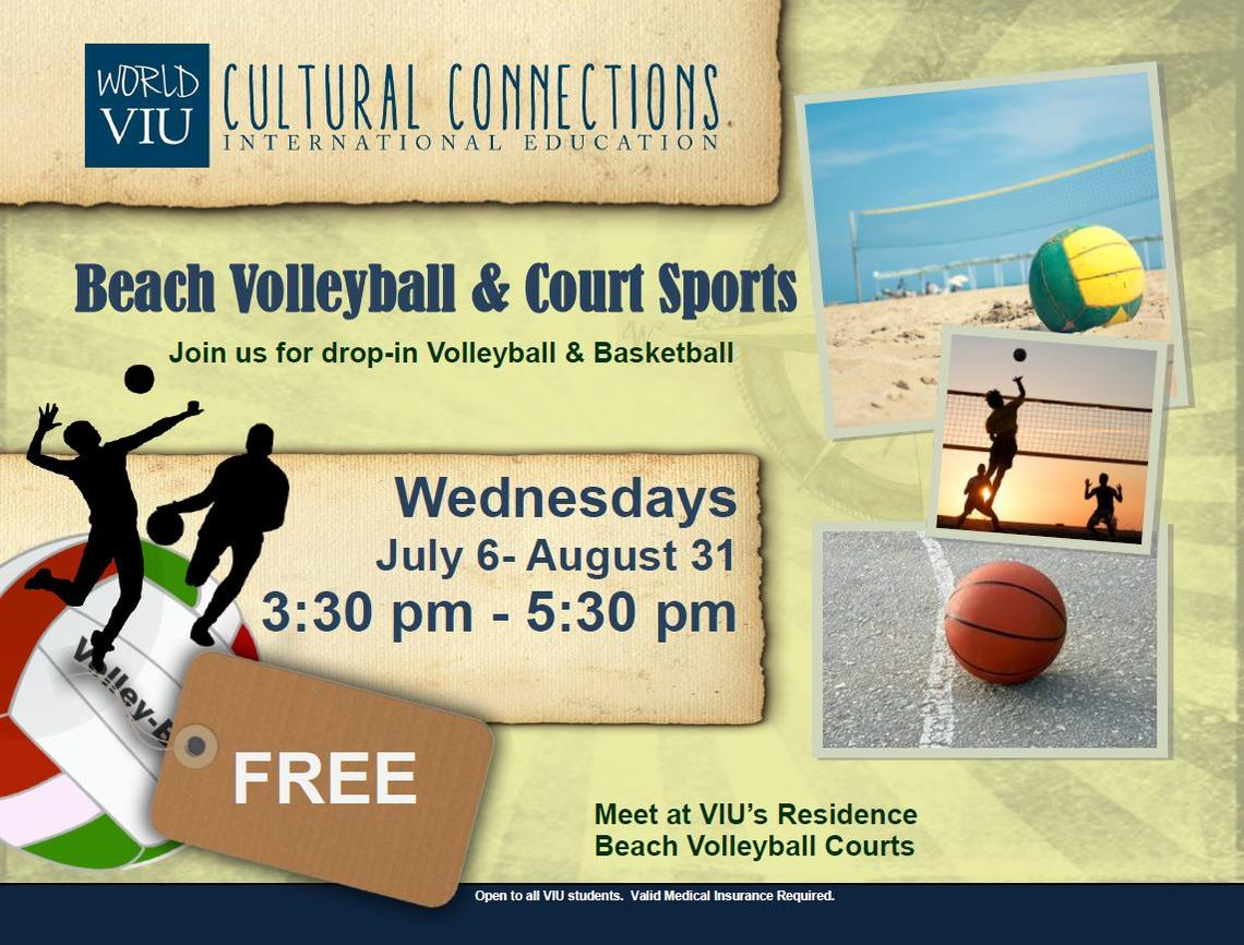 Sports, VIU. Beach Volleyball, INternational Education