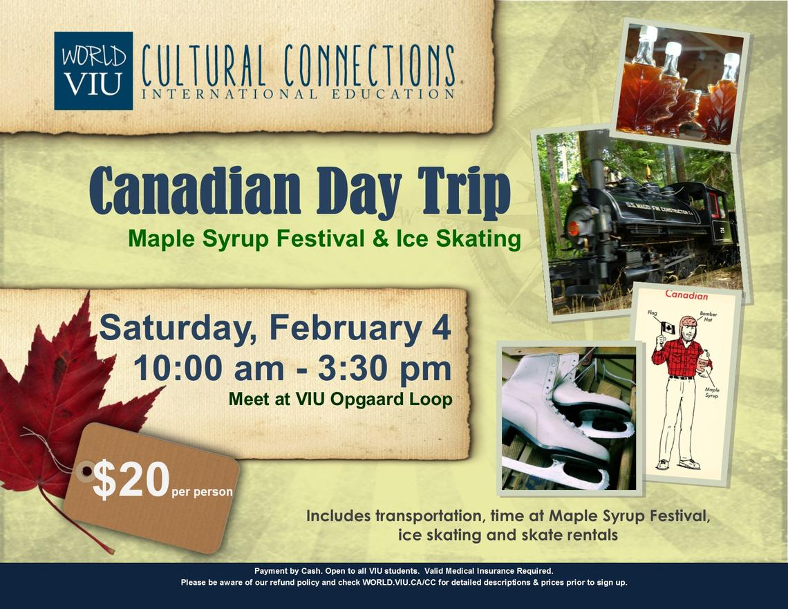 maple Syrup, VIU, International Students, Activities, Student Life, Vancouver Island Univeristy