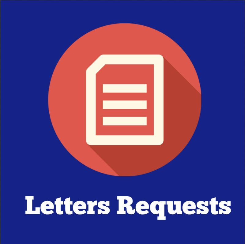Letters request