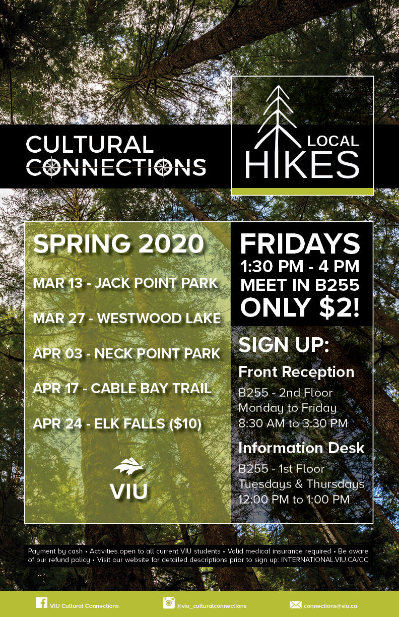 CC Local Hikes - Spring Semester