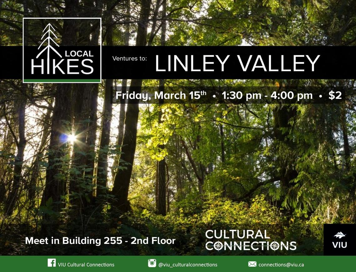 VIU Cultural Connections - Local Hikes - Linley Valley