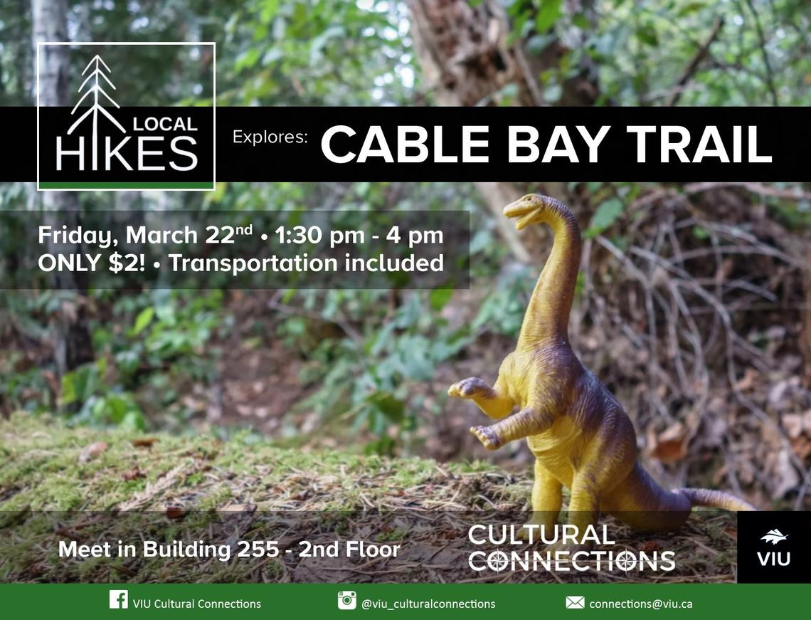 VIU Cultural Connections - Local Hikes - Cable Bay Park