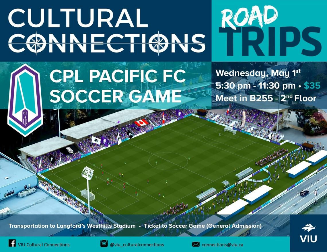 CC Road Trips - Pacific FC Soccer Game