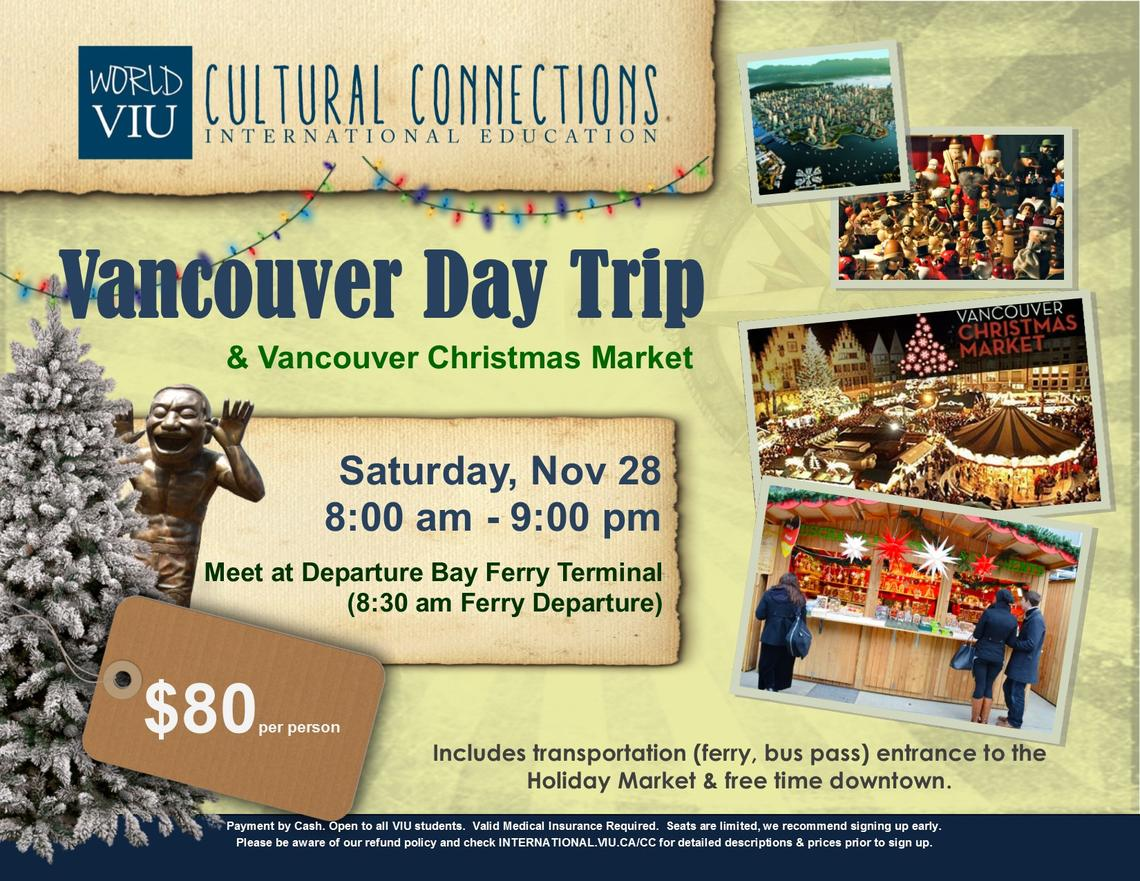 VIU, Cultural Connections, Vancouver, Christmas, Market