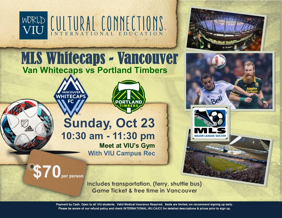Soccer, Football, Cultural Connections, Outdoor Rec, VIU, Vancouver, Whitecaps