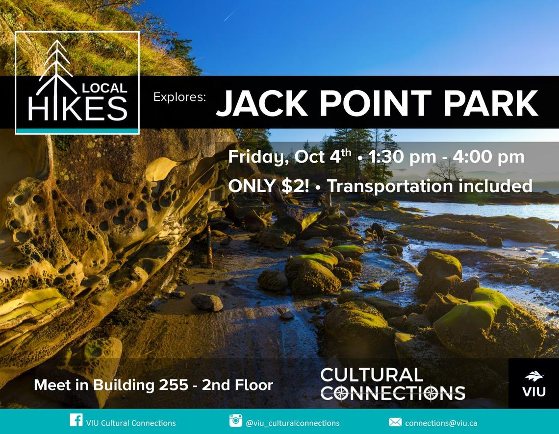 VIU - Cultural Connections - Local Hikes - Jack Point Park