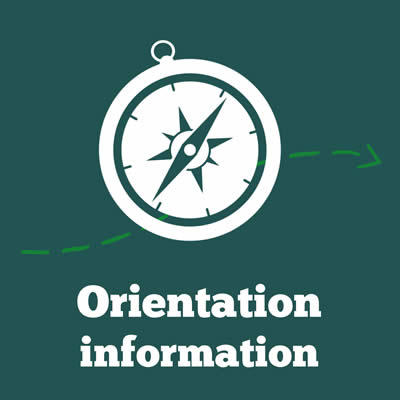 Orientation Information at Vancouver Island University (VIU)