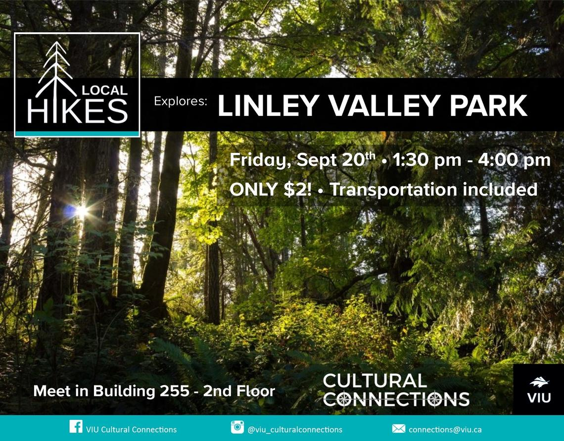 VIU - Cultural Connections - Local Hikes - Linley Valley
