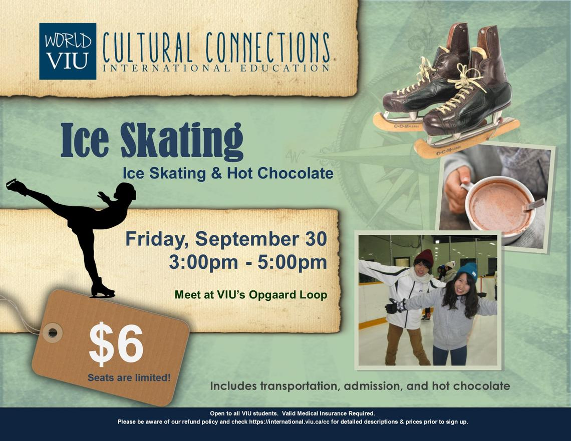 VIU, Cultural Connections, Ice Skating