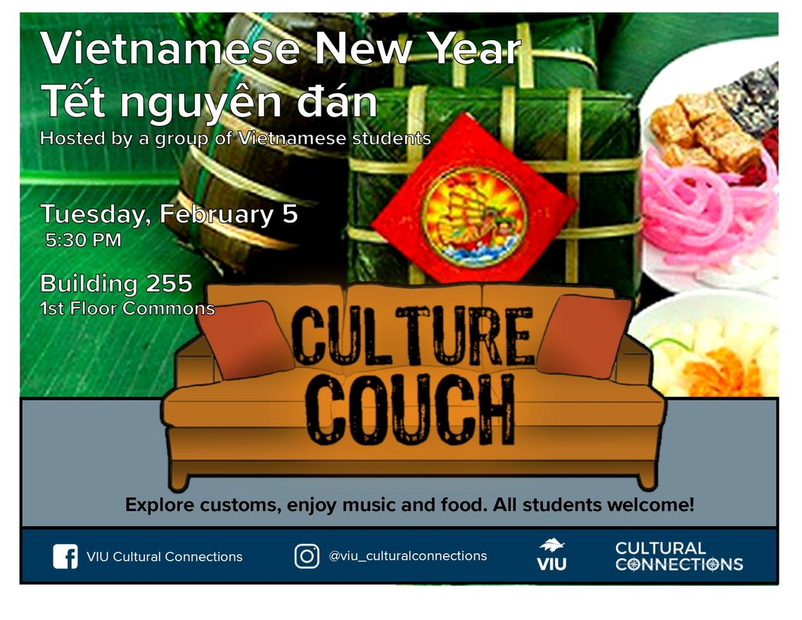 VIU Culture Couch Vietnamese New Year Feb 5 2019