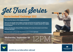 Education Abroad Exchange 101 - September 18, 2019