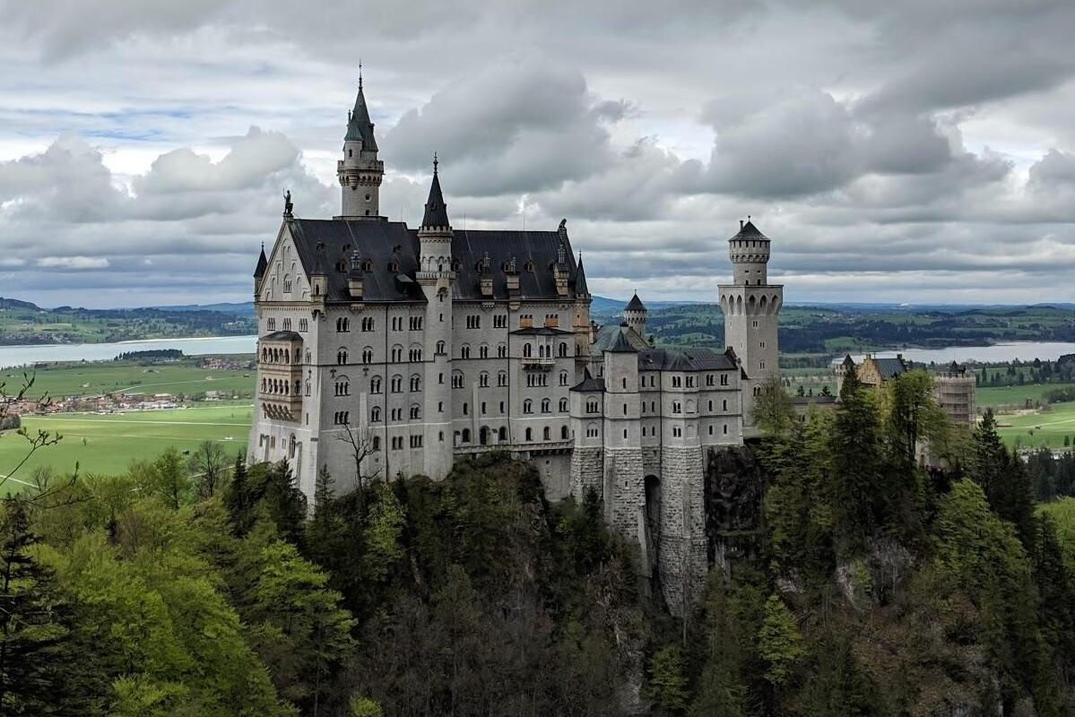 Expansive View of Castle