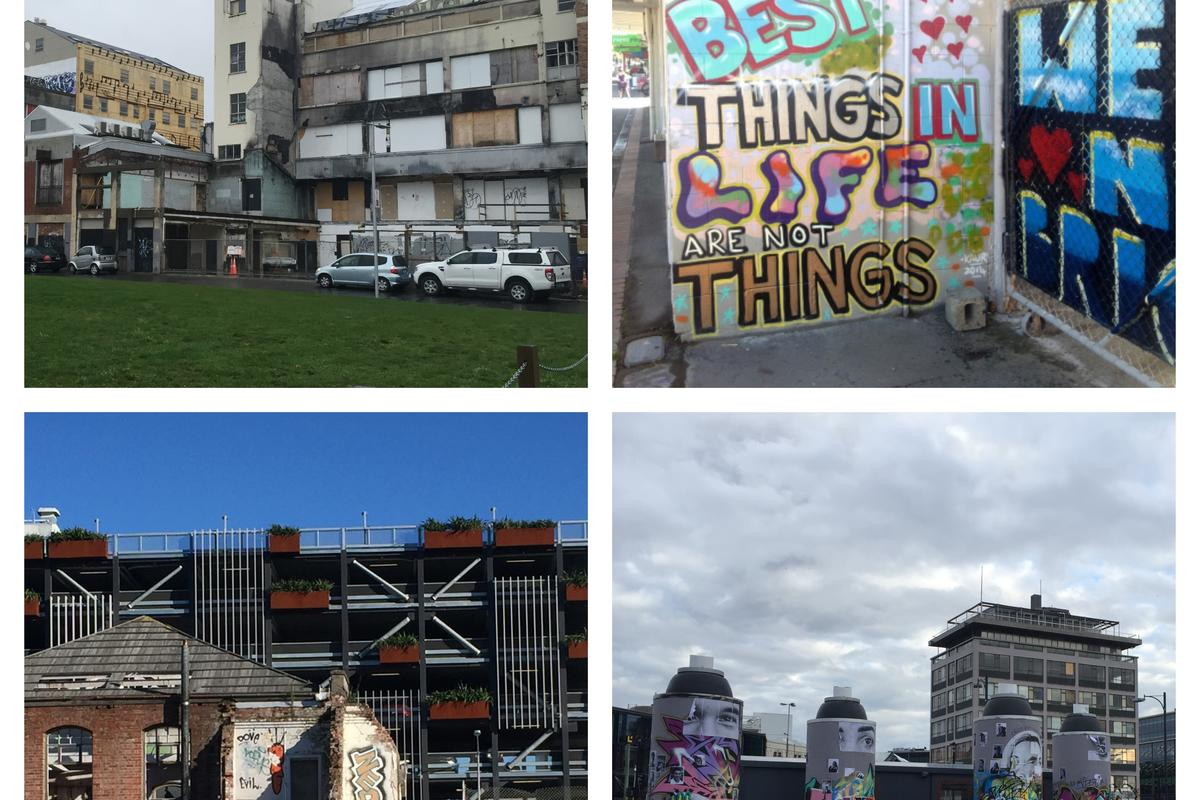 Lainy Nowak Studies Resilience in Christchurch, New Zealand