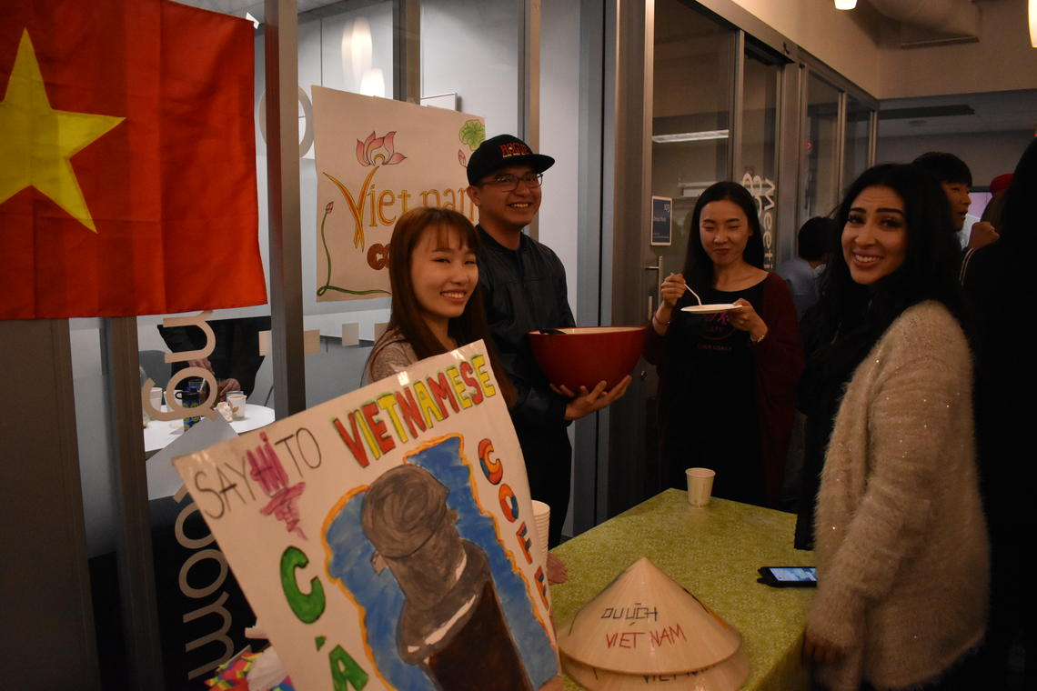 VIU - Cultural connections - ELC - Welcome Week - Coffe Around the world