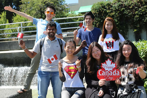 VIU International Education Canada Day celebration